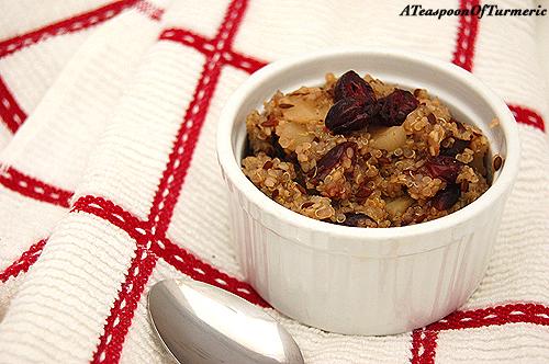 Arvinda's Chai Spice Breakfast Quinoa