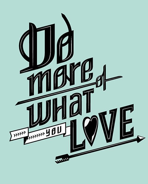 "No more Blue Mondays, when you ""Do more of what you love."" Words from Lululemon.com"
