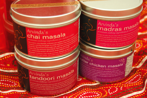 Make a heart-warming Indian meal using Arvinda's Valentine Spice Set ($28 includes shipping to Canadian addresses).