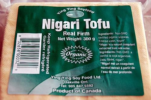 Ying Ying Soy's Nigari organic tofu