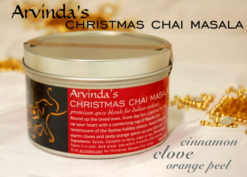 Arvinda's Christmas Chai is here!