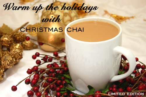 Arvinda's Christmas Chai Masala makes a festive cup of decadent chai ~ perfect for the holiday season!
